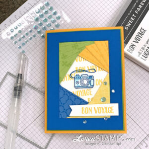 how-to-iris-folding-stampin-up-sweet-farewell-camera-stitched-rectangles-video-tutorial