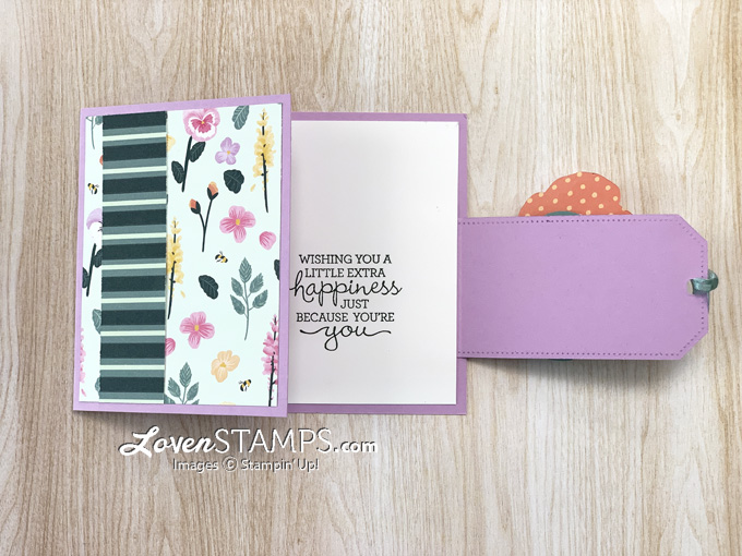 tailor-made-tags-buckle-card-fun-fold-with-pansy-petals-patch-die-stampin-up-part-open