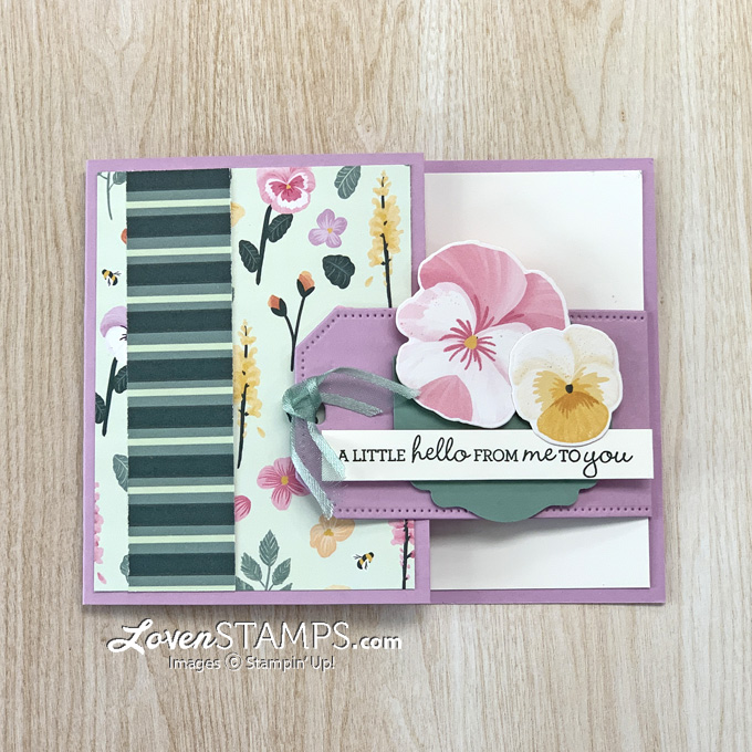 tailor-made-tags-buckle-card-fun-fold-with-pansy-petals-patch-die-stampin-up