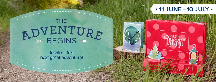 Paper Pumpkin Adventure Begins Kit - available with sign up by Jul 10