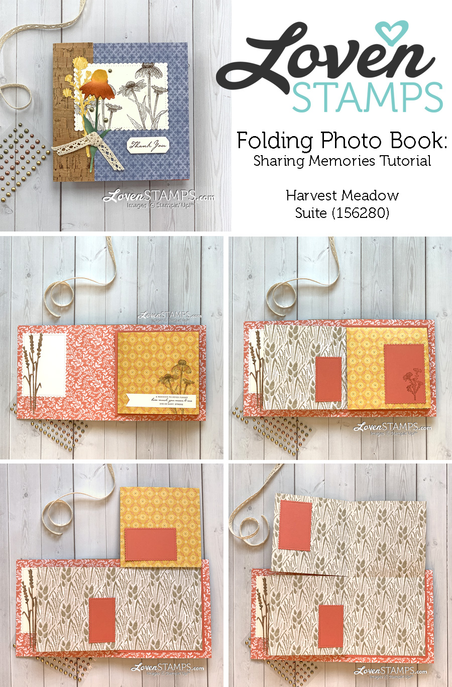 natures-harvest-meadow-suite-stampin-up-stitched-sweetly-dies-vintage-lace-memory-photo-book-tutorial