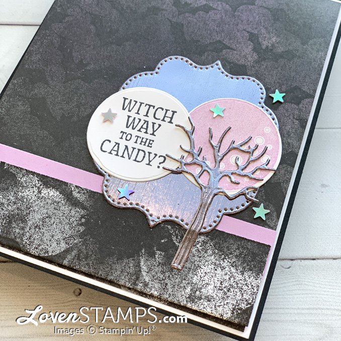 frighteningly-cute-halloween-card-stampin-up-supplies-magic-night-dsp-clearance-rack-stars-dsp-card-base-tutorial-open-title