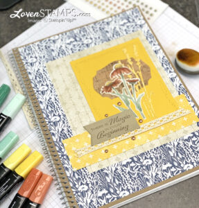 natures-harvest-meadow-custom-notebook-cover-gift-for-back-to-school-kids-teachers-cork-paper-video-tutorial-stampin-up-holiday-catalog-blends