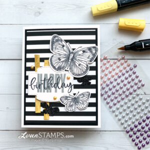 black-and-white-pattern-party-butterfly-brilliance-tutorial-with-meg-stampin-up-supplies