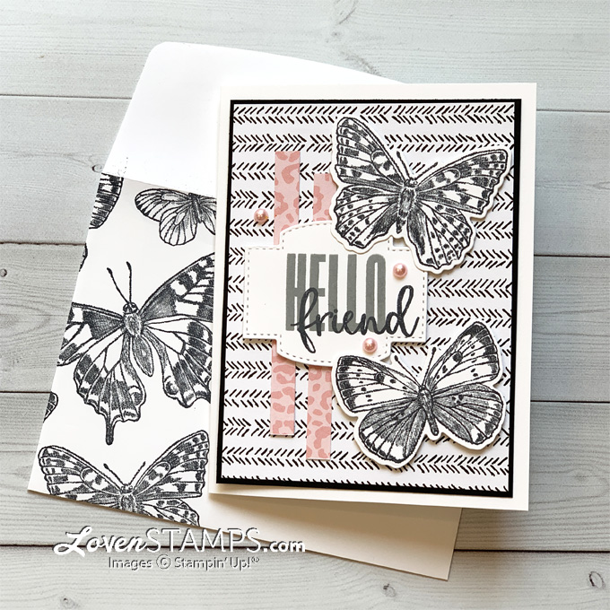 pro-stamping-tip-color-pearls-w-stampin-blends-butterfly-brilliance-wings-dies-stampin-up-stitched-sweetly-black-and-white-card-tutorial-version-pink