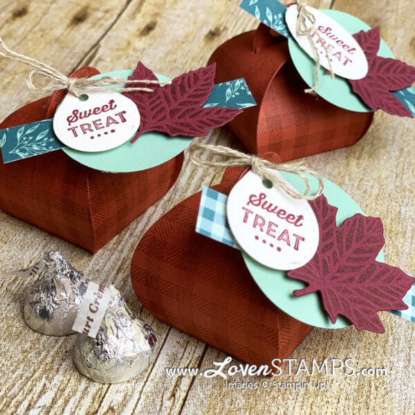 Treats and Favors Stampin Up Tutorials